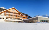 Natur Idyll Hotel Hochgall a Riva di Tures in inverno